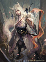 CM: Kitsune Wizarding Ranger by shizen1102