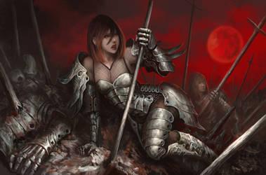 Fall of Artemisa by shizen1102
