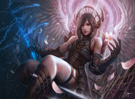 Angel of Fury by shizen1102