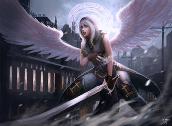 CM: Angel Sierra by shizen1102