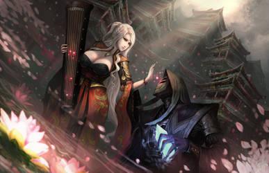 Lotus and Crystal