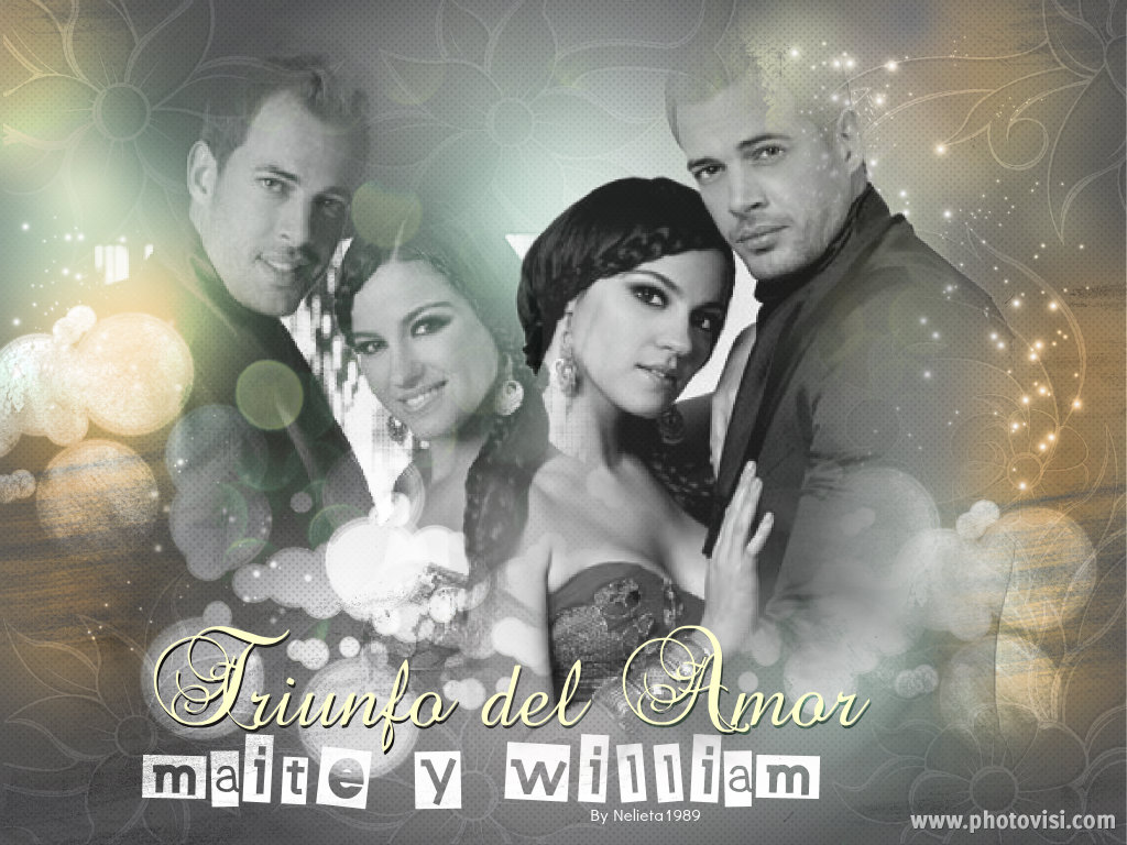 William Levy And Maite Perroni 2014