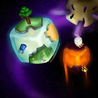 Minecraft Worlds by ellielza