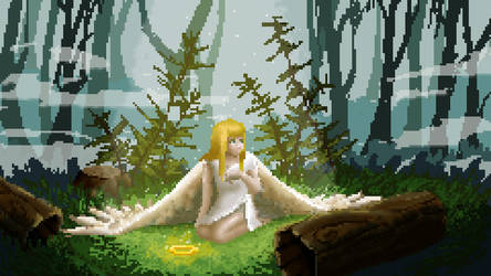 Forest Landing by ellielza