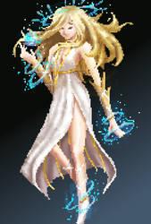 Goddess by ellielza