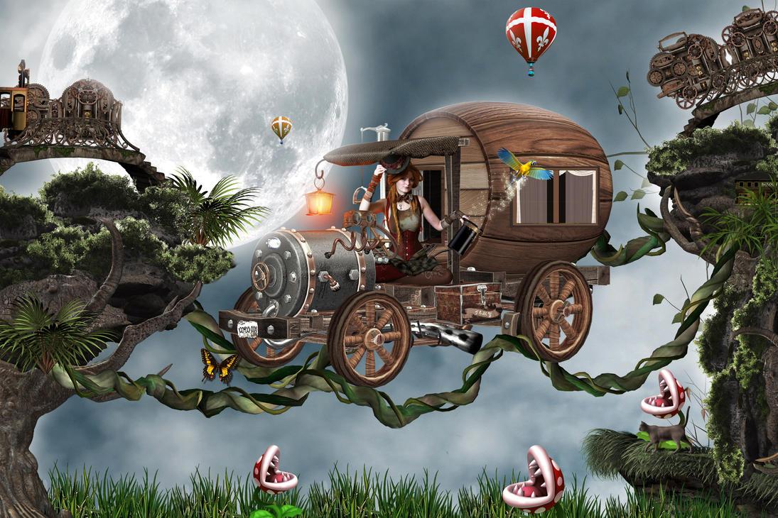 steampunk by Temyplatde
