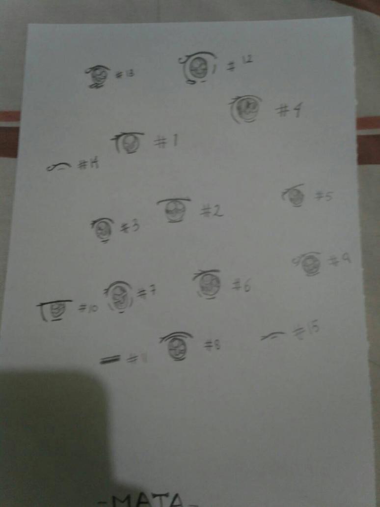 Meh Ais (Eyes) by SketchAngelSketch16