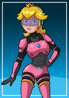 Power Armor Peach by Vicsor-S3