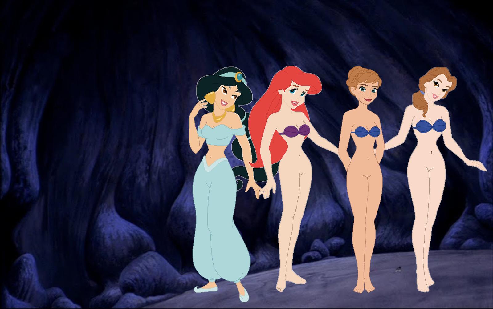 Porn pics of Disney Ariel and Jasmine Page 1