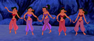 The Prince Ali belly dancers