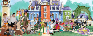 Peter Pan in Pooh Sofia the First Poster