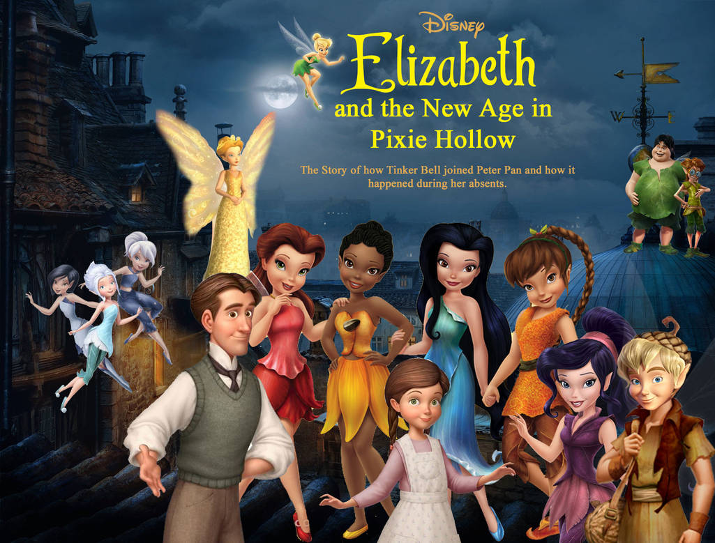Elizabeth and the New Age in Pixie Hollow poster