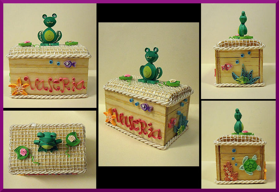 Frog Jewerly Box II by AutumnNightBat