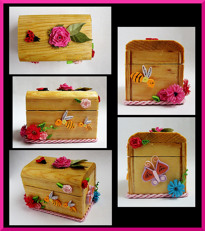 Rose Jewerly Box by AutumnNightBat