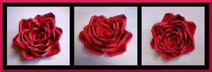 Paper Rose by AutumnNightBat