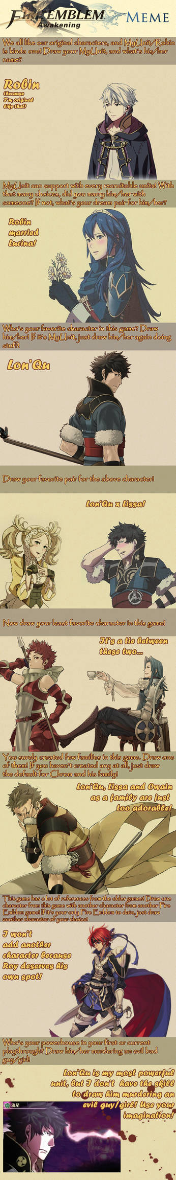 Fire Emblem Awakening Meme by NinjaMatty
