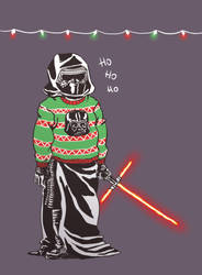 First Order Winter Holiday party Kylo Ren