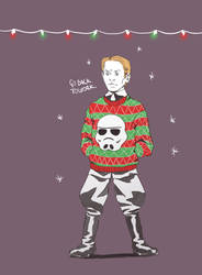 First Order Winter Holiday party Armitage Hux