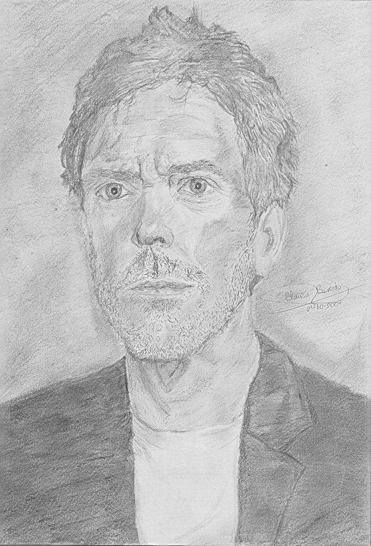 Hugh Laurie by Elriel