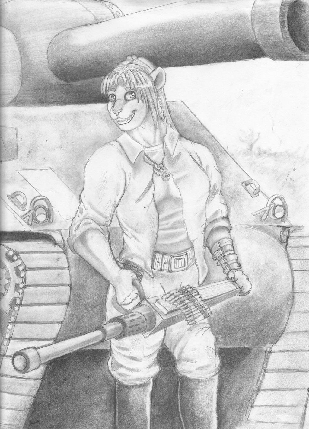 Gals, Guns, and Tanks! by TweedPawn