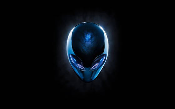Alienhead Chrome Blue