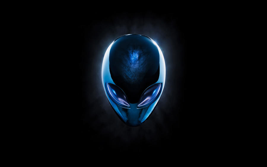 Alienhead Chrome Blue by kirtpro