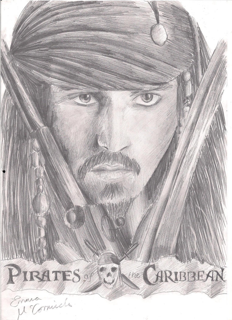 Captain Jack Sparrow by Super-Midget