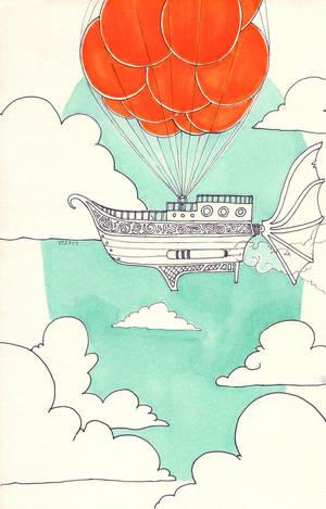 Cloud [Inktober - Day 19] by veeveeyan
