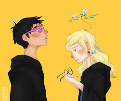 Huh... [Harry Potter] by veeveeyan
