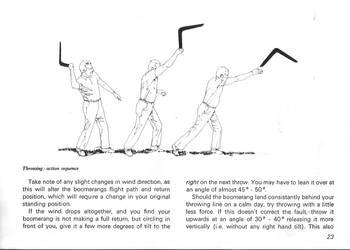 Throwing the Boomerang