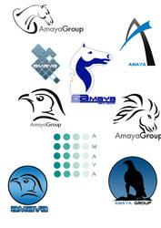 Amaya logos by razangraphics