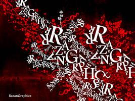 typography razangraphics1 by razangraphics