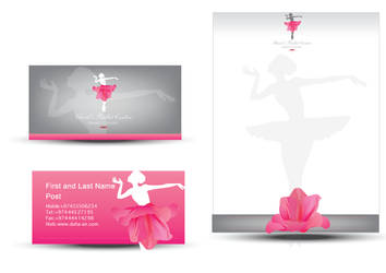 Ballet logotype2 by razangraphics
