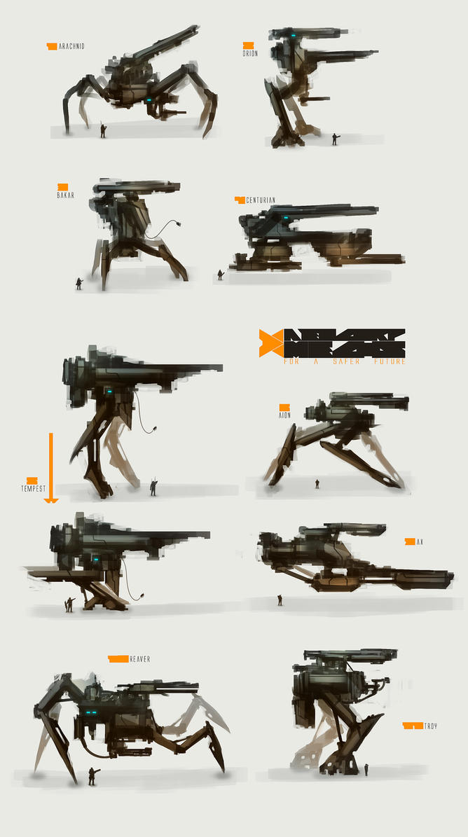 Mech Thumbs by TomEdwardsConcepts