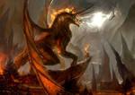 Adremelech, the King of Fire