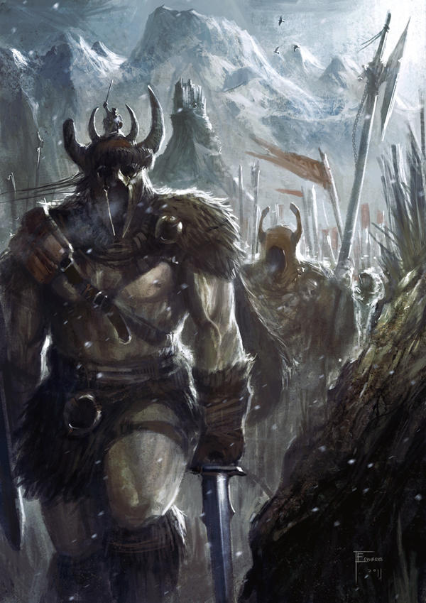 Barbarian March by TomEdwardsConcepts