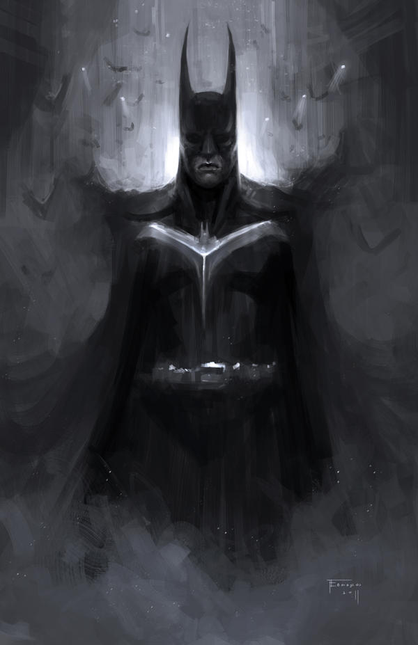 Batman by TomEdwardsConcepts