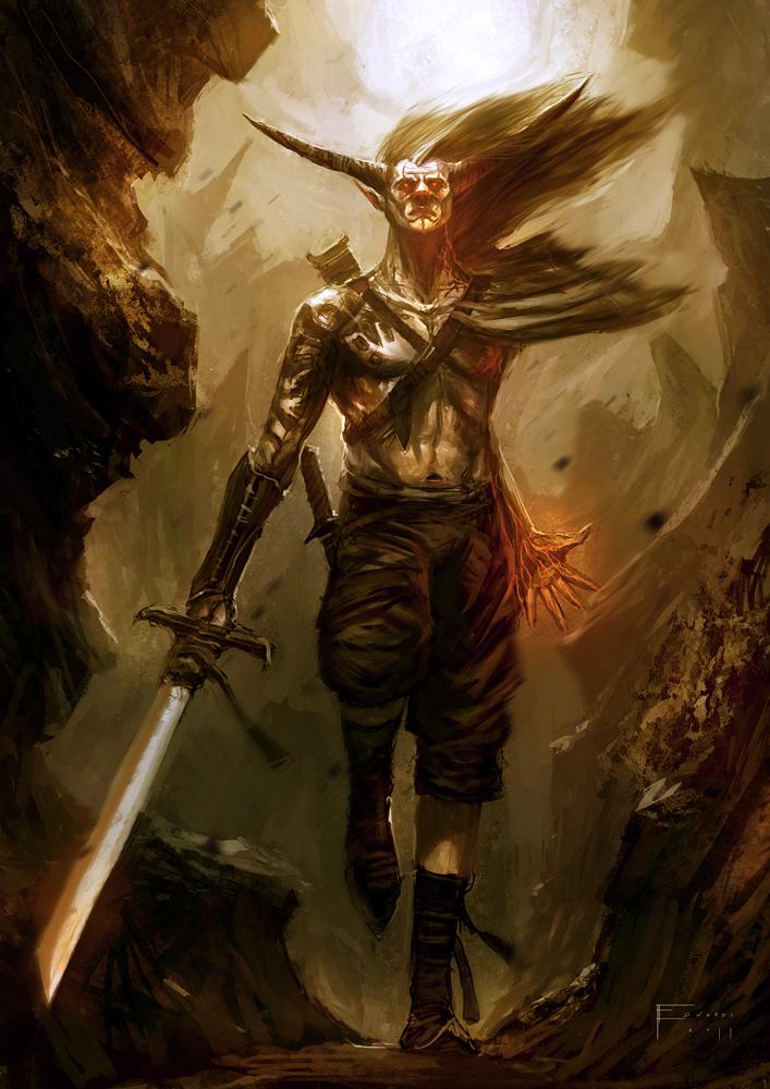 Demon Wanderer by TomEdwardsConcepts