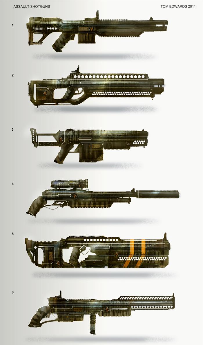 Shotguns by TomEdwardsConcepts