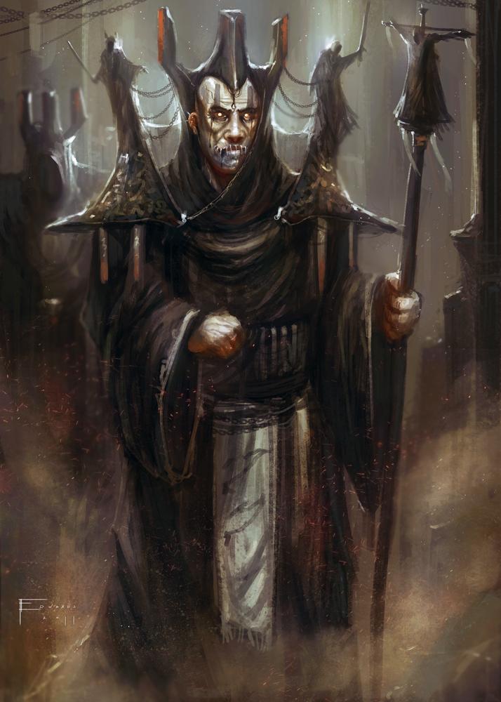 Dark Priest by TomEdwardsConcepts