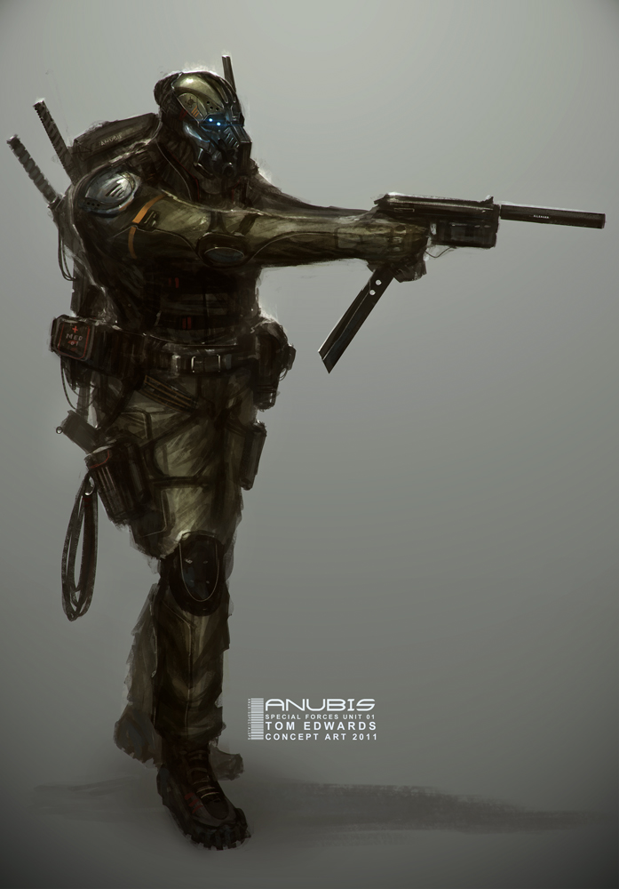 Anubis Special Forces by TomEdwardsConcepts