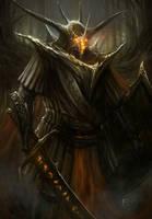 Dark Forrest Knight by TomEdwardsConcepts