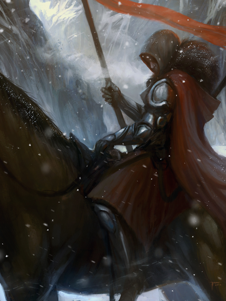 The Knight by TomEdwardsConcepts