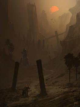 Dusk Rider by TomEdwardsConcepts