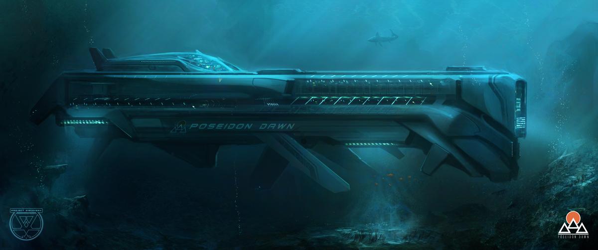 Poseidon Dawn by TomEdwardsConcepts