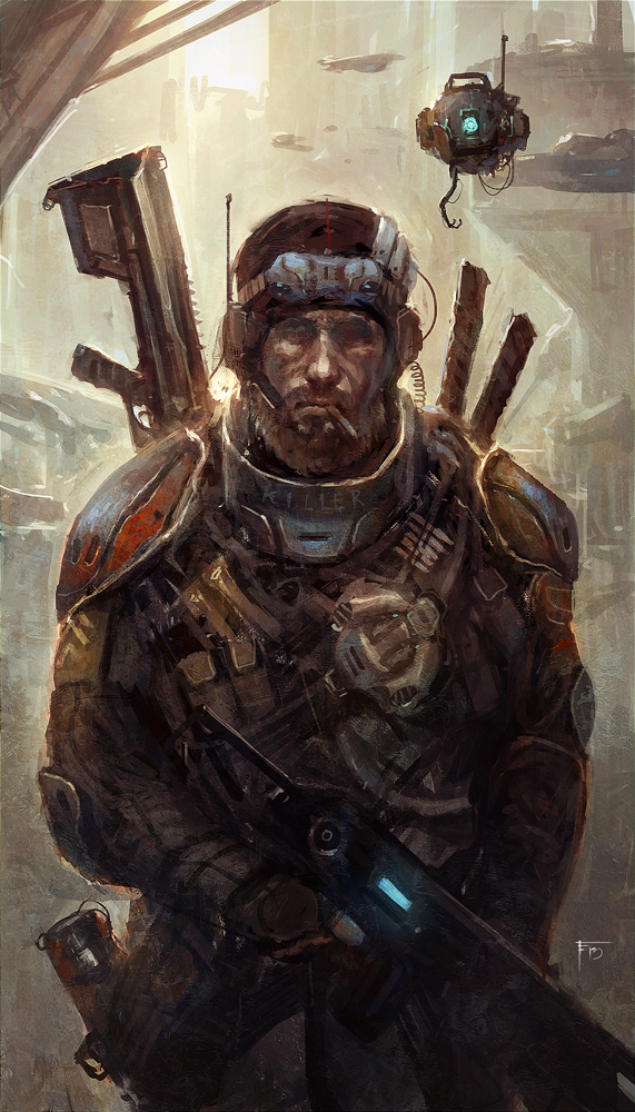 Mercenaryjoe by TomEdwardsConcepts