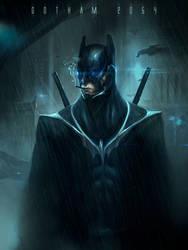 Gotham 2054 by TomEdwardsConcepts