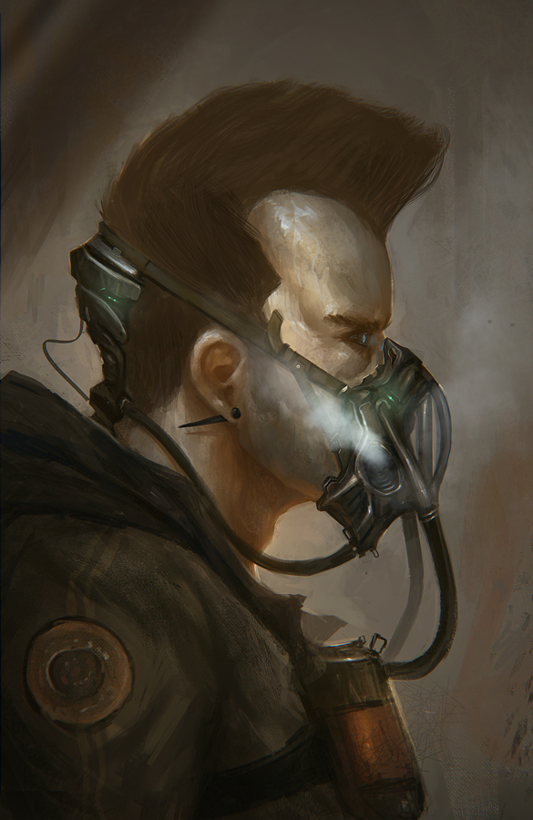 Respirator by TomEdwardsConcepts