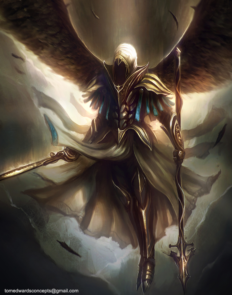 Archangel by TomEdwardsConcepts