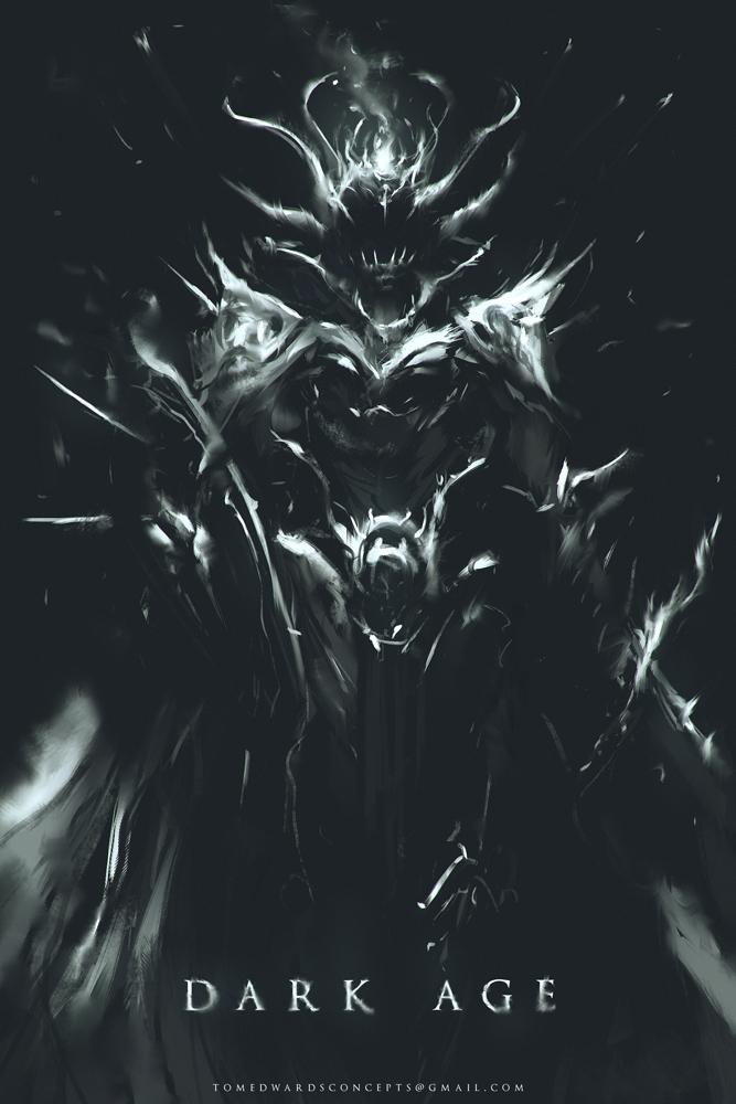 Dark Age - Demon Warrior by TomEdwardsConcepts